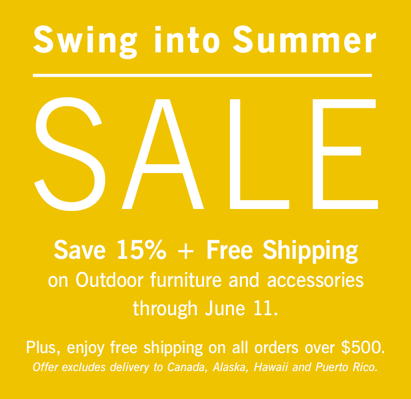 Swing into Summer Sale